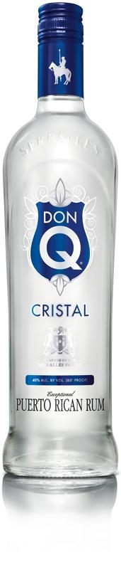 Don Q Cristal Silver Rum 750ml