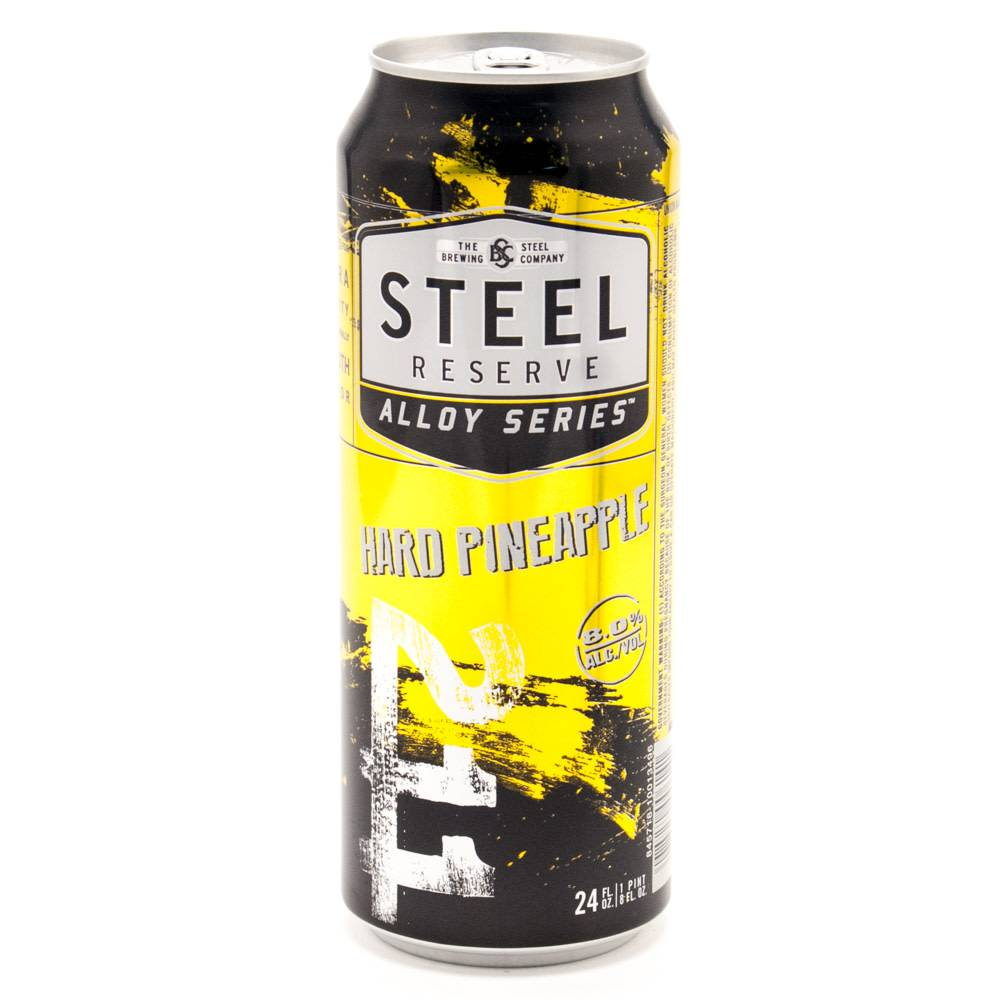 Steel Reserve Hard Pineapple 16oz