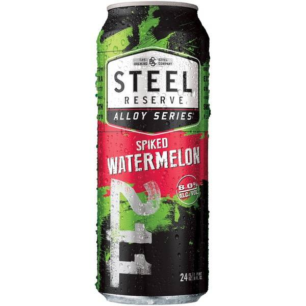 Steel Reserve Spiked Watermelon 16oz