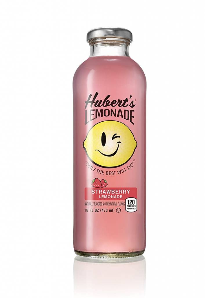 Hubert's Strawberry Lemonade 16oz