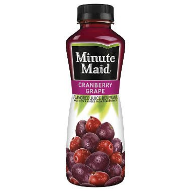 Minute Maid Cran/Grape 12oz