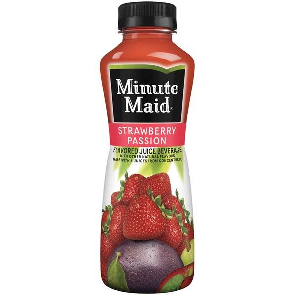 Minute Maid Strawberry Passion 12oz