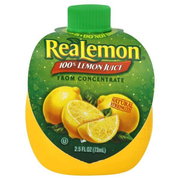 Real Lemon Juice 2.5oz