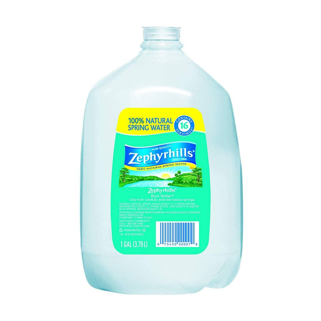 Zephyrhills Water Gallon