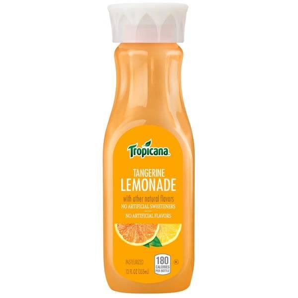 Tropicana Premium Tangerine Lemonade 12oz