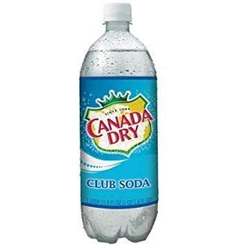 Canada Dry Club Soda Liter