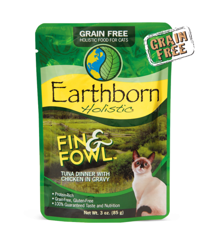 Earthborn Holistic® Earthborn Holistic® Fin & Fowl™ Tuna Dinner with Chicken in Gravy 3oz