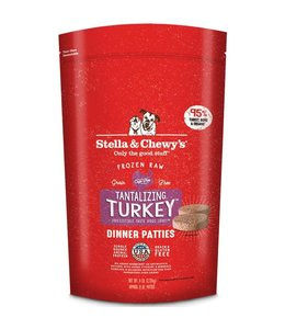 Stella & Chewy's Stella & Chewys Tantalizing Turkey Frozen Raw Dinner Patties For Dogs
