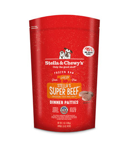 Stella & Chewy's® Stella & Chewy's® Super Beef Frozen Raw Dinner Patties For Dogs