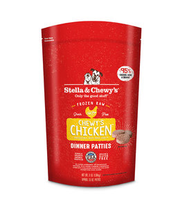 Stella & Chewy's Stella & Chewys Chicken Frozen Raw Dinner Patties For Dogs