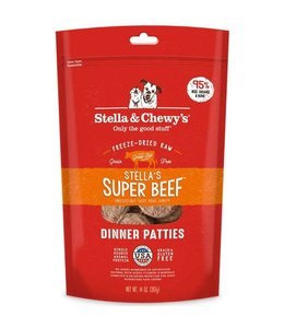 Stella & Chewy's Stella & Chewy's Super Beef Freeze-Dried Raw Dinner Patties