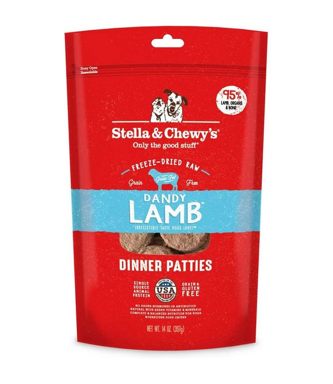 Stella & Chewy's Stella & Chewy's Dandy Lamb Freeze-Dried Raw Dinner Patties