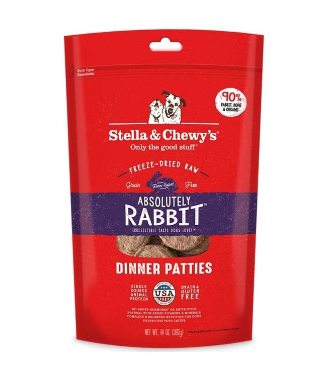 Stella & Chewy's® Stella & Chewy's® Absolutely Rabbit Freeze-Dried Raw Dinner Patties