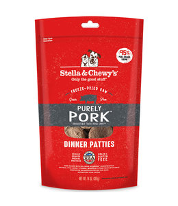 Stella & Chewy's Stella & Chewy's Purely Pork Freeze-Dried Raw Dinner Patties 14oz