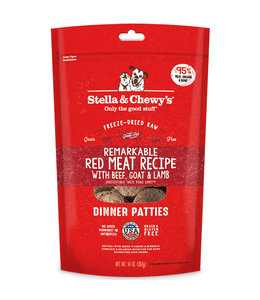 Stella & Chewy's Stella & Chewy's Remarkable Red Meat Freeze-Dried Raw Dinner Patties