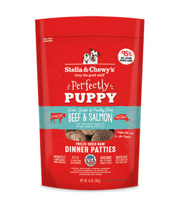 Stella & Chewy's Stella & Chewy's Beef & Salmon Perfectly Puppy Freeze-Dried Dinner Patties