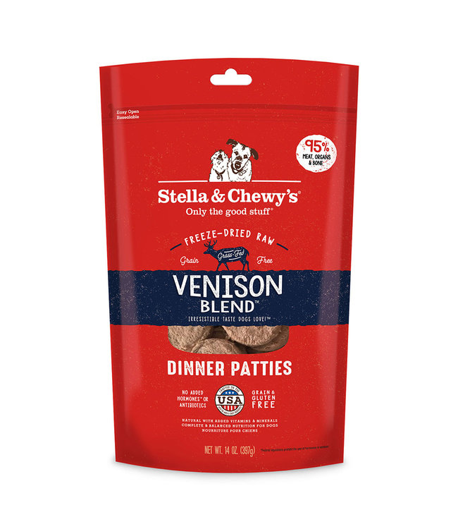 Stella & Chewy's Stella & Chewy's Venison Blend Freeze-Dried Raw Dinner Patties
