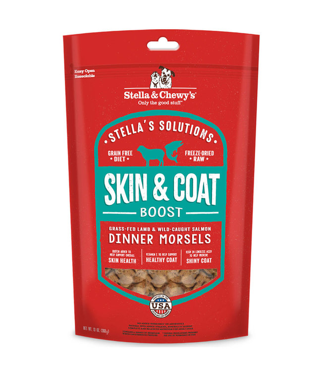 Stella & Chewy's Stella & Chewy's Solutions Skin Coat Boost Lamb & Salmon 15 oz