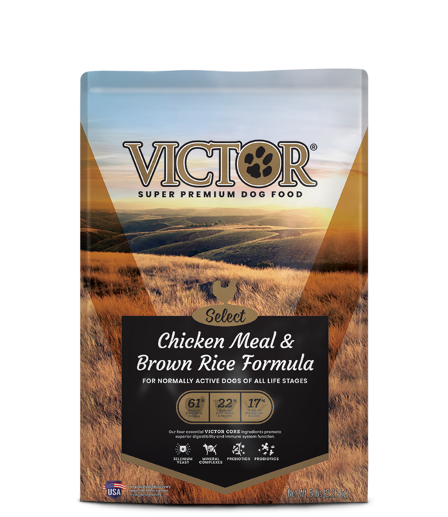 Victor Pet Food VICTOR® Select Chicken Meal & Brown Rice Formula