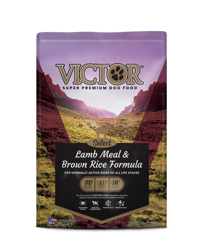 Victor Pet Food VICTOR® Select Lamb Meal & Brown Rice Formula