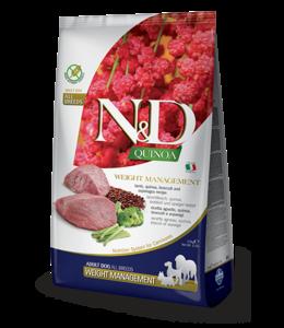 Farmina Farmina N&D QUINOA Grain Free Lamb & Blueberry Weight Management