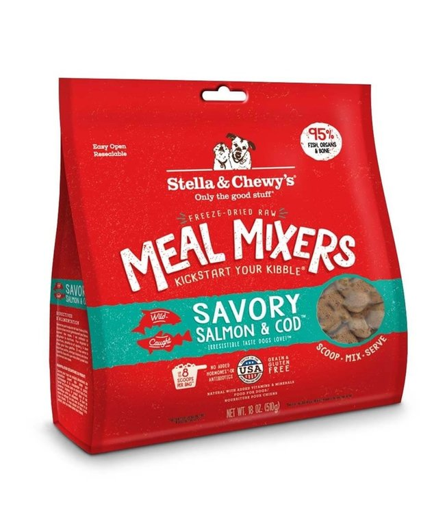 Stella & Chewy's Stella & Chewys Freeze-Dried Savory Salmon & Cod Meal Mixers