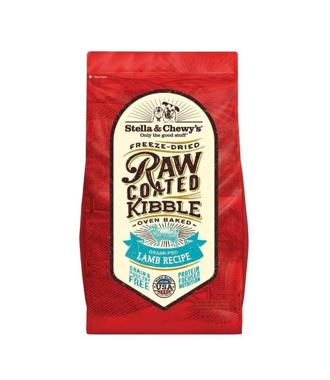 Stella & Chewy's® Stella & Chewy's Grain-Free Grass-Fed Lamb Raw Coated Kibble