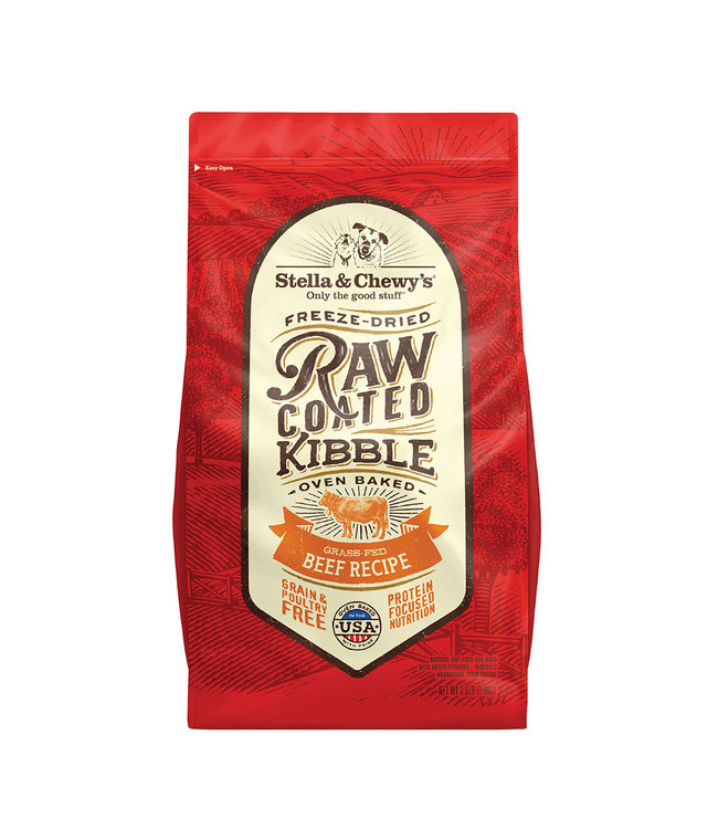 Stella & Chewy's Stella & Chewys Grain-Free Grass-Fed Raw-Coated Beef