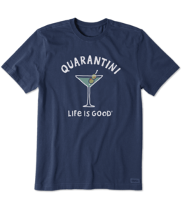Life is good® Life is good® Men's Quarantini Crusher Tee