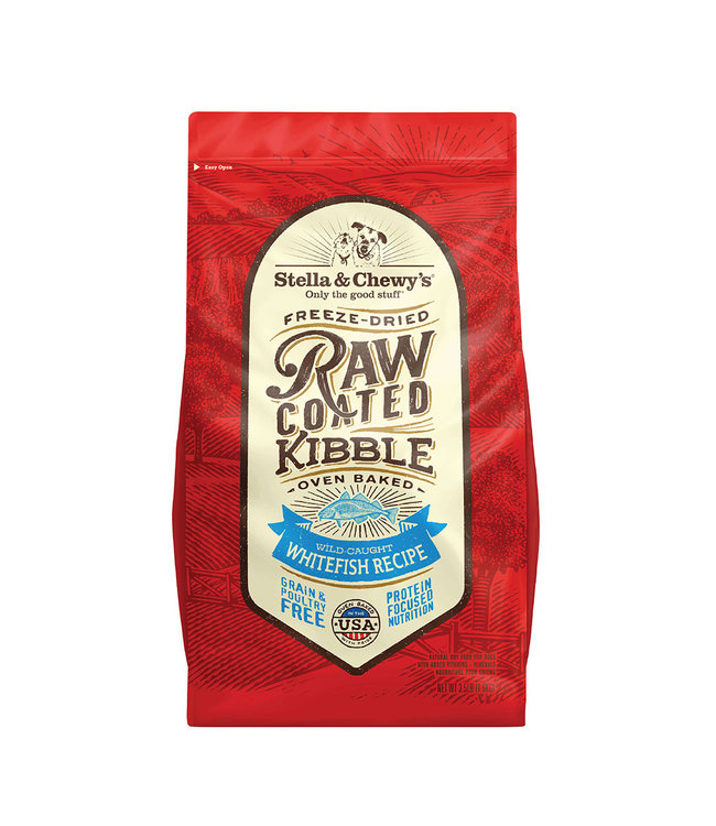 Stella & Chewy's® Stella & Chewy's® Grain-Free Wild-Caught Whitefish Raw Coated Kibble