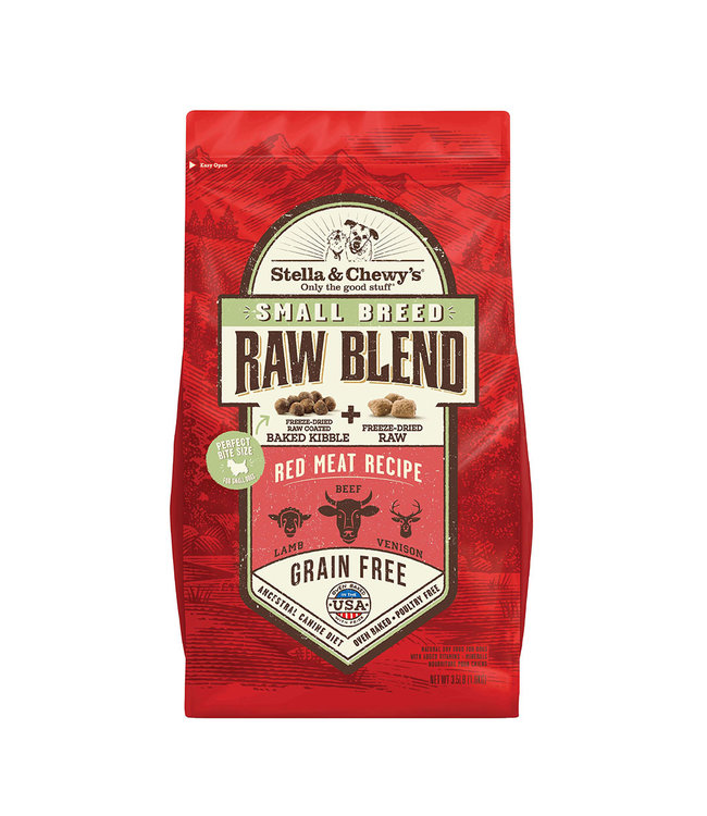 Stella & Chewy's Stella & Chewy's Small Breed Red Meat Raw Blend Kibble