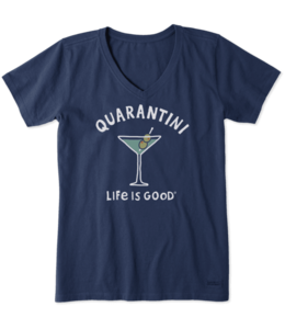 Life is good® Life is good® Women's Quarantini Crusher Vee