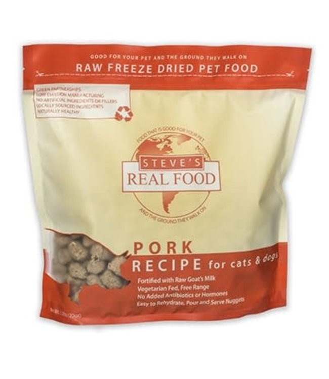 Steve's Real Food Steve's Real Food Freeze Dried Pork Diet 1.25lb