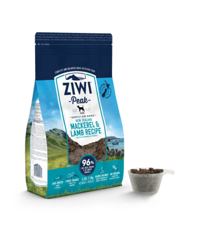 ZiwiPeak USA, Inc. ZIWI® Peak Air-Dried Mackerel & Lamb Recipe for Dogs
