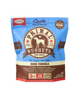 Primal Pet Foods Primal Raw Frozen Canine Duck Formula