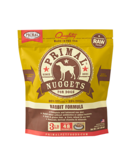 Primal Pet Foods Primal Raw Frozen Canine Rabbit Formula
