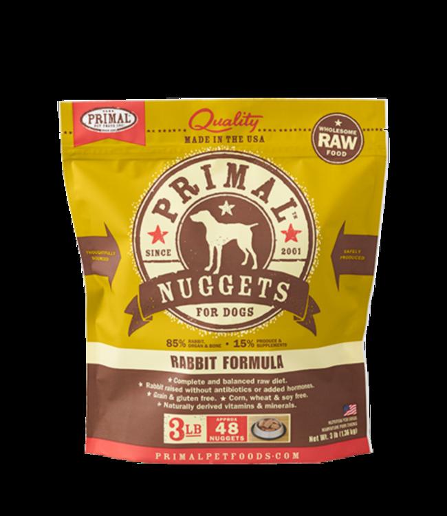 Primal Pet Foods Primal Raw Frozen Canine Rabbit Formula