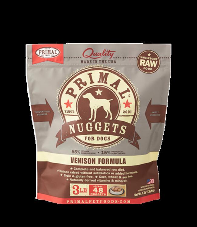 Primal Pet Foods Primal Raw Frozen Canine Venison Formula