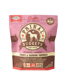 Primal Pet Foods Primal Raw Frozen Canine Turkey & Sardine Formula