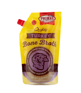 Primal Pet Foods Primal Frozen Turkey Bone Broth 20oz
