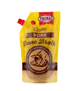 Primal Pet Foods Primal Frozen Pork Bone Broth 20oz