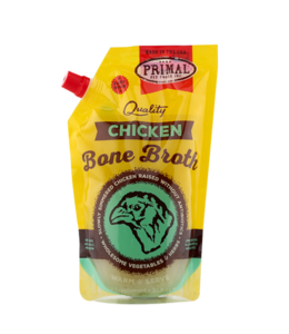 Primal Pet Foods Primal Frozen Chicken Bone Broth 20oz