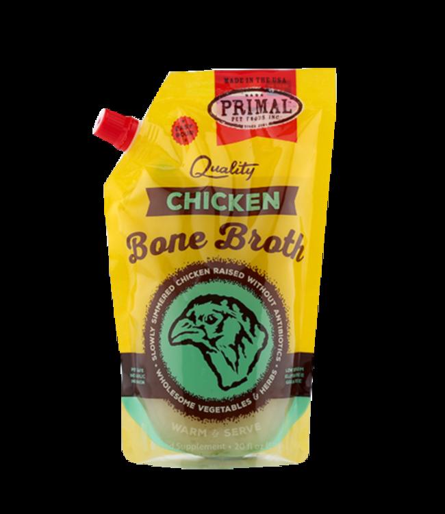 Primal Pet Foods Primal Frozen Chicken Bone Broth 20oz