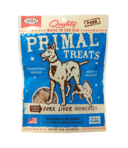 Primal Pet Foods Primal Freeze-Dried Pork Liver Munchies 2oz