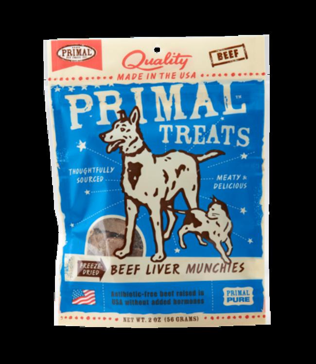 Primal Pet Foods Primal Freeze-Dried Beef Liver Munchies 2oz