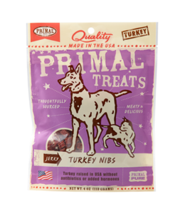 Primal Pet Foods Primal Jerky Turkey Nibs 4oz