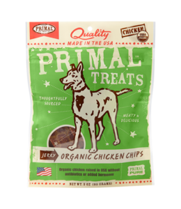 Primal Pet Foods Primal Jerky Chicken Chips 3oz