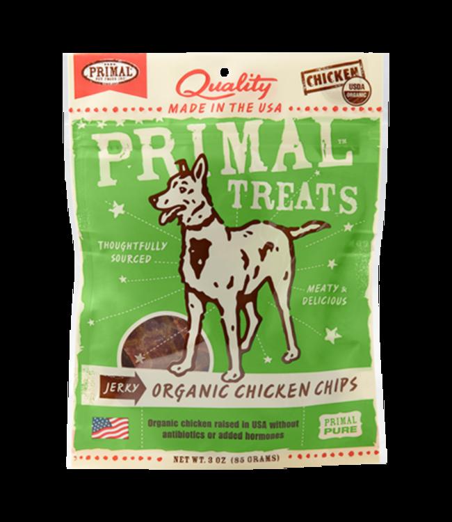 Primal Pet Foods Primal Jerky Chicken Chips 3oz