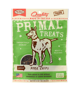 Primal Pet Foods Primal Jerky Pork Chips 3oz