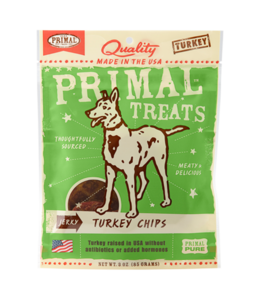 Primal Pet Foods Primal Jerky Turkey Chips 3oz